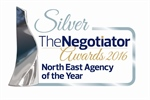 Silver Award at The Negotiator Awards 2016!